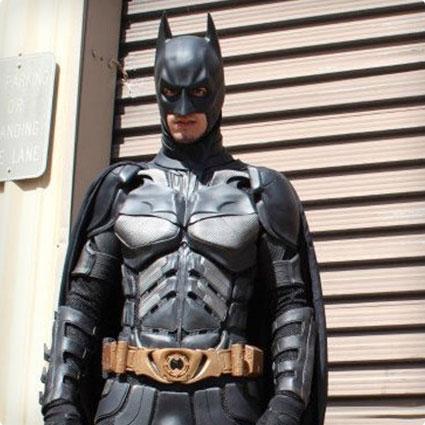 Assembled Batman Dark Knight Suit
