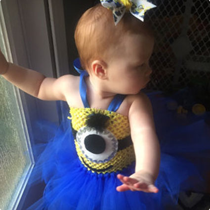 Baby Minion Tutu Costume
