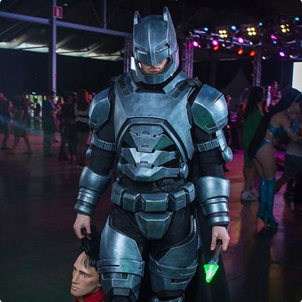 Batman Armored Suit Costume