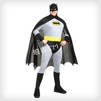 Batman Gray Cartoon Costume