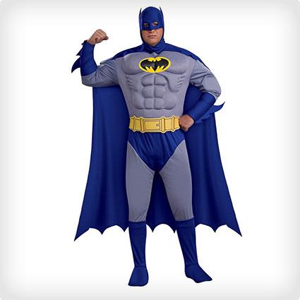Batman Muscle Chest Plus Size Costume