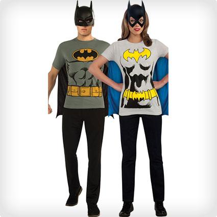 Batman T-Shirt Couples Costumes