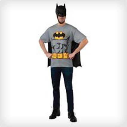 Batman T-Shirt with Cape and Mask & 40 Super Legit Batman Costumes (All Styles) | Costume Yeti