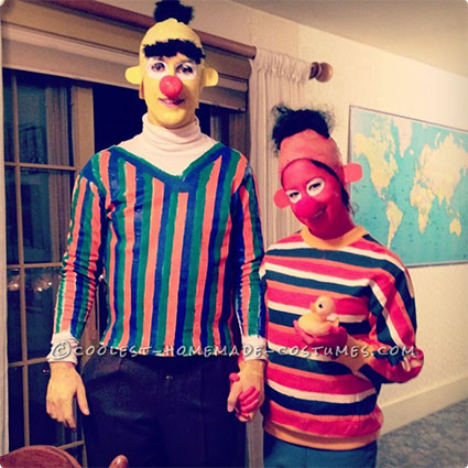 Bert and Ernie Costumes