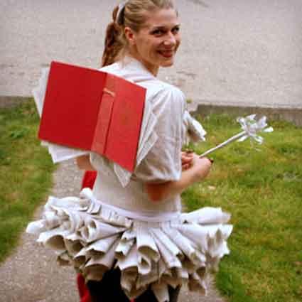 Book Fairy Costume