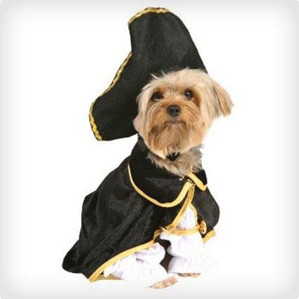 Captain Pirate Pet Costume