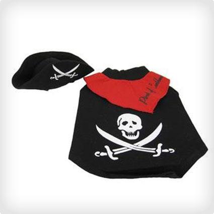 Caribbean Pirate Dog Costume