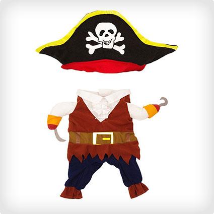 Caribbean Pirate Pet Costume
