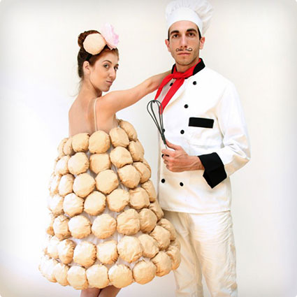 Chef and Croquembouche Costumes