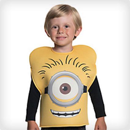 Child Foam Minion Shirt