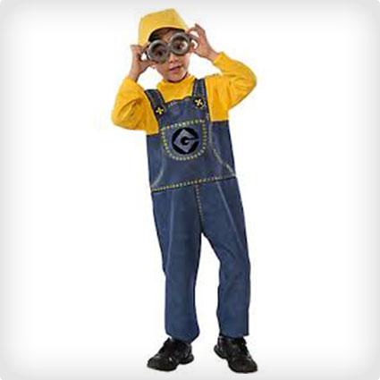 Child Minion Jumpsuit Costume