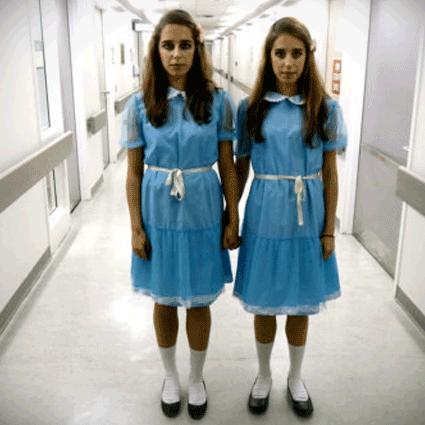 Custom Made The Shining Grady Twins Set Dress