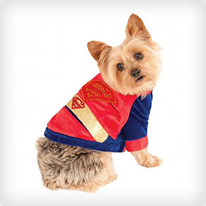 DC Heroes and Villains Superman Pet Costume