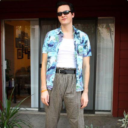 DIY Ace Ventura Costume