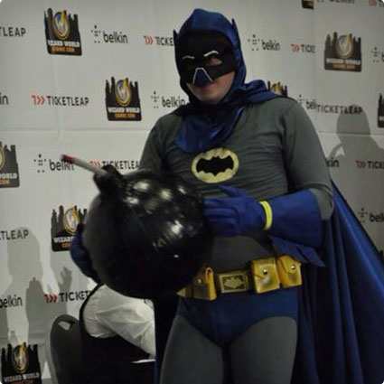DIY Adam West Batman Costume