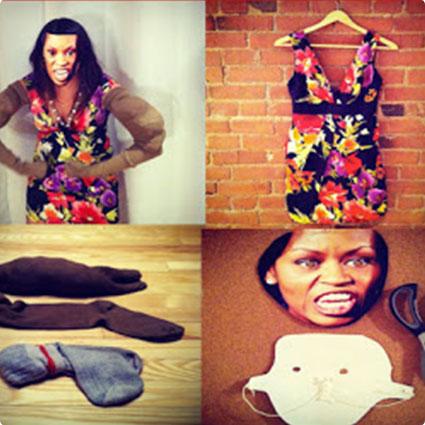 DIY Michelle Obama Costume