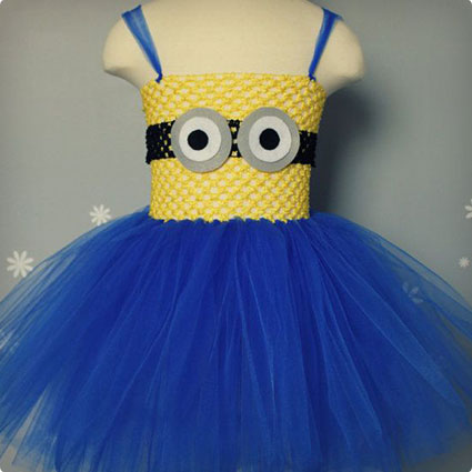 DIY Minion Tutu Dress