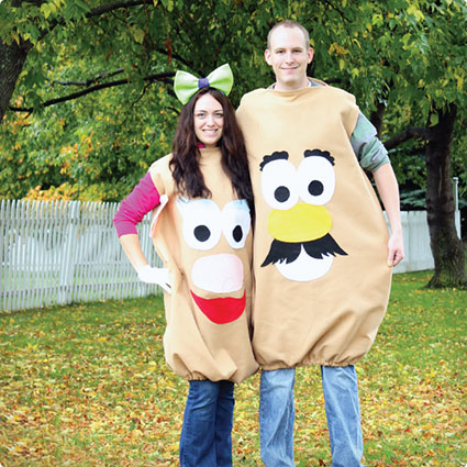 DIY Mr. and Mrs. Potato Head Costumes