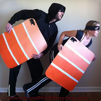 DIY Paint Chip Costumes
