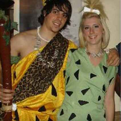DIY Pebbles and Bam-Bam Costumes
