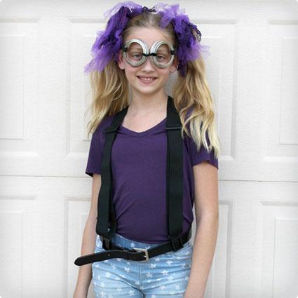 DIY Purple Minion Costume