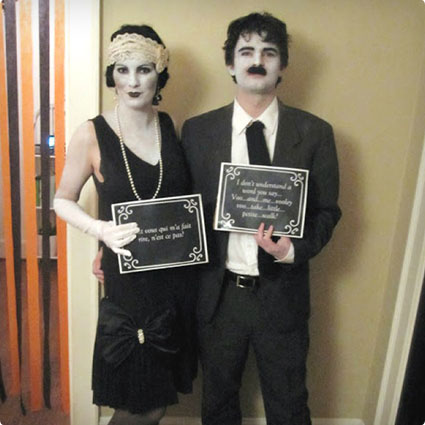 DIY Silent Film Stars Costumes