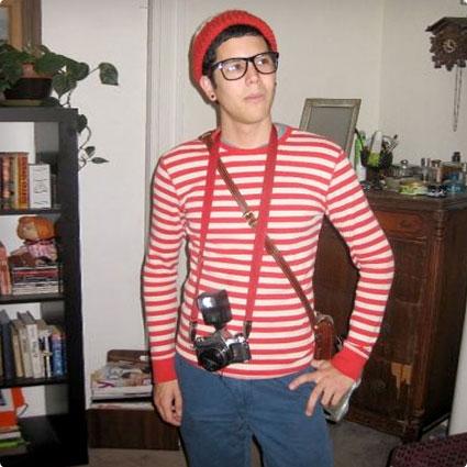 DIY Where's Waldo Costume