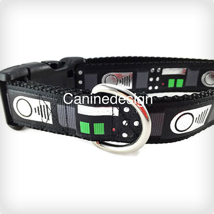 Darth Vader Dog Collar