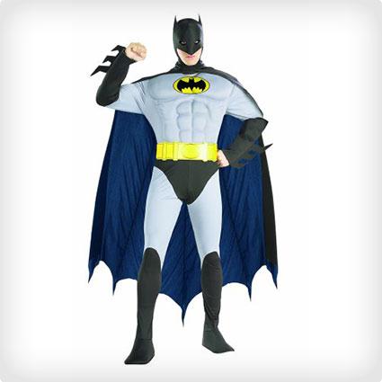 Deluxe Muscle Chest Batman Costume