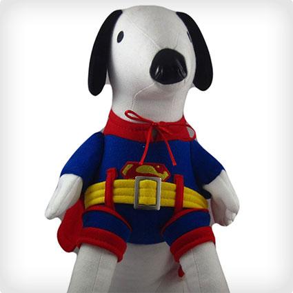 Doggie Superman Costume