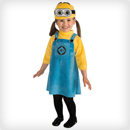 Female Minion kids Costume