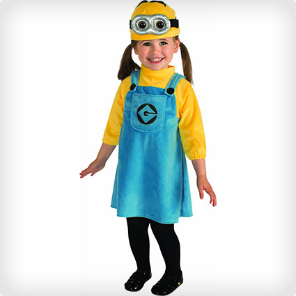 Female Toddler Minion Costume