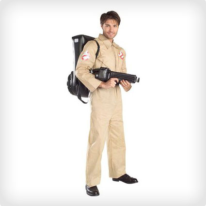Ghostbusters Costume With Backpack