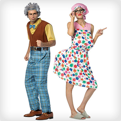 Grandma and Grandpa Couples Costumes