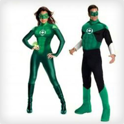 >Green Lantern Couples Costumes
