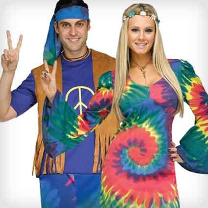 Groovy Tie-Dye Costumes