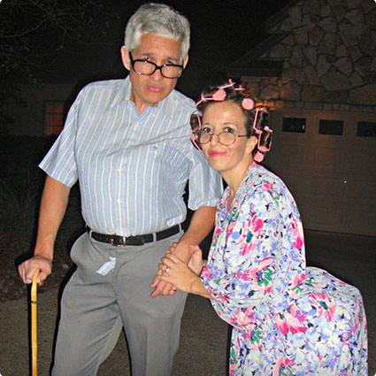 Grumpy Old Man and Woman Costumes