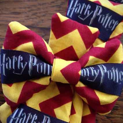 Gryffindor Dog Necktie