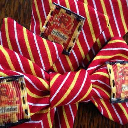Gryffindor House Crest Dog Necktie