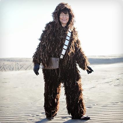 Homemade Chewbacca Costume Tutorial