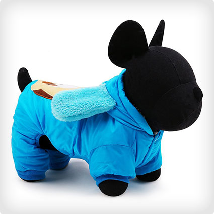 Hooded Mickey Mouse Pet Costume