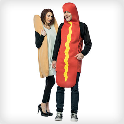 Hot Dog and Bun Costumes