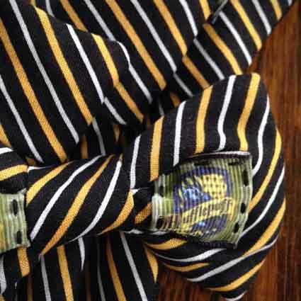 Hufflepuff House Crest Dog Necktie