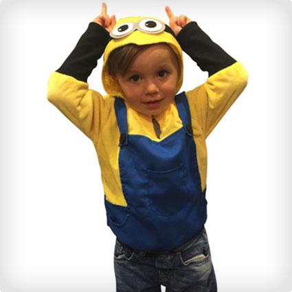 Kids Minion Sweatshirt Costume