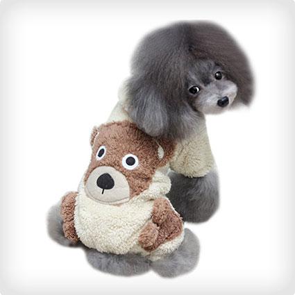 Lalago Teddy Bear Warm Dog Costume