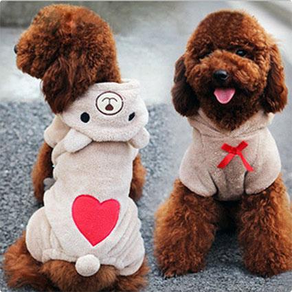 Leezo Pet Puppy Dog Teddy Bear Costumes