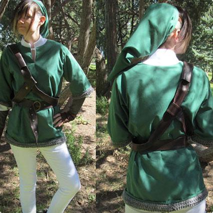 Legend of Zelda Link Cosplay Costume