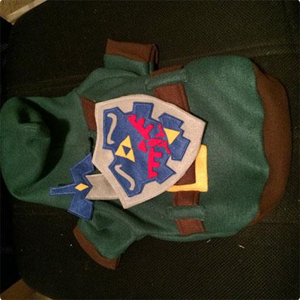 Legend of Zelda Link Pet Costume