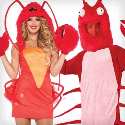 Lobster Couples Costumes