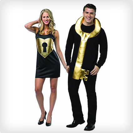 Lock and Key Couples Costumes